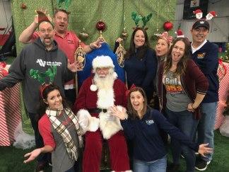 2017 Christmas Carnival Staff Photo